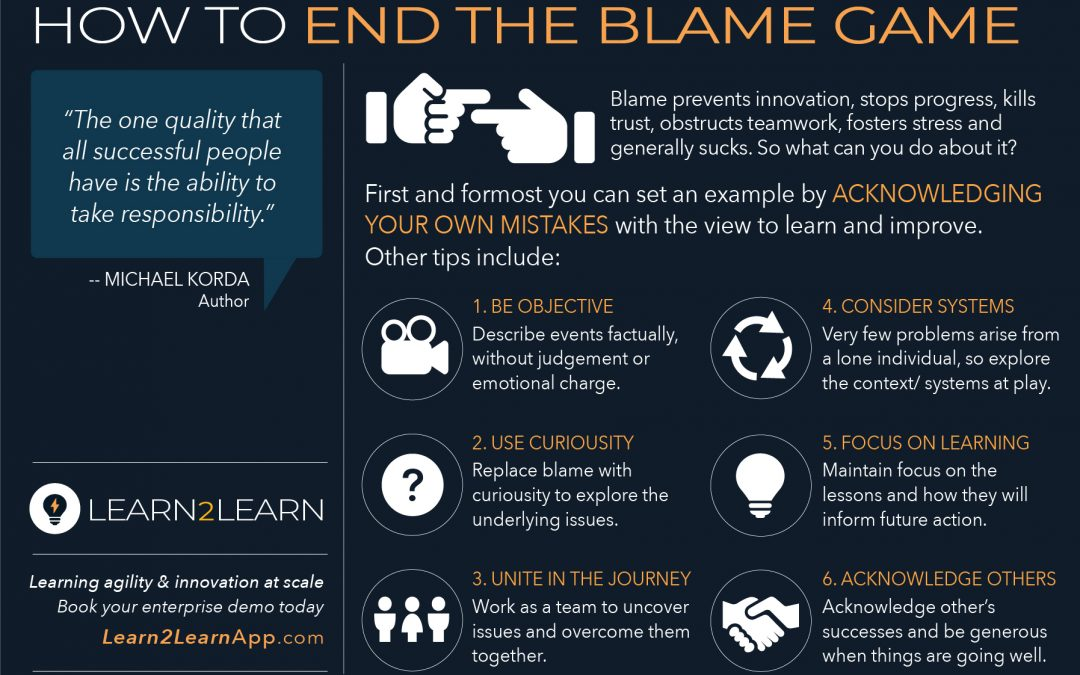 Infographic: L2L End the Blame Game