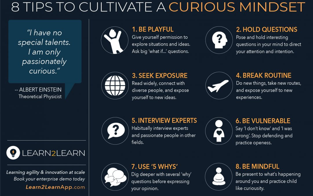 Infographic: L2L Tips to Cultivate Curious