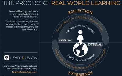 Infographic: L2L Real World Learning, Reflection & Experience