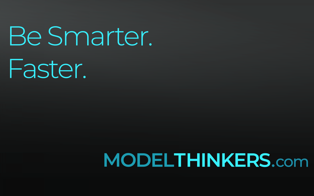 Intro to ModelThinkers + Discount Coupon :D